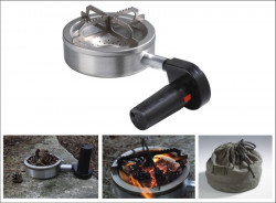 WOOD outdoorový varič, 150x150x80mm, 0,9kg