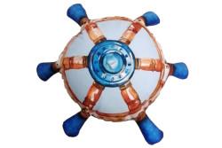 Dekoračný podhlavník - Blue marlin 118cm