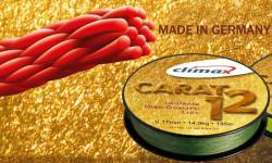 CLIMAX Carat 12 Spiral šnúra 135m / 0,13mm