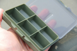 Krabička plastová T-Box small 6 dielna 10,5x7x2,5cm