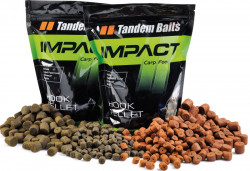 Impact Hook Pellet Black halibut 16mm/5kg