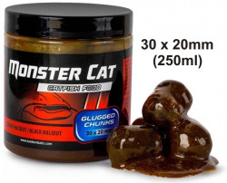 Monster Cat Glugged pelety na sumce, 30 x 20mm, 250ml