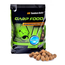 Carp Food Boilies 16mm/1kg Čierny Halibut