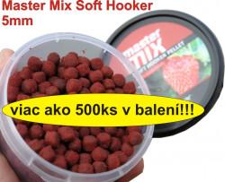 Mäkké pelety na háčik Master Mix, pr. 6mm, 120g