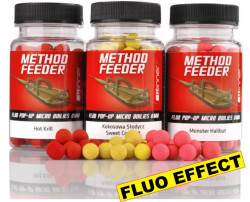 Fluo Pop-Up Micro Boilies Method/Feeder, pr. 8mm, 35g