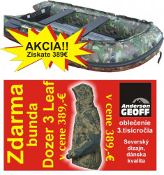 Akcia-Čln Fantom 270 camou+ZDARMA bunda Dozer 3 Leaf