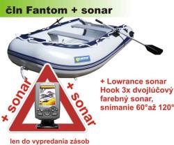 Albastar AKCIA-Čln + ZDARMA sonar ELITE 3X
