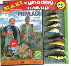 Rybárov sen 8 ks vobler FANATIC + ZDARMA DVD