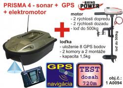 Akcia - PRISMA so sonarom a GPS + elektromotor Cobold