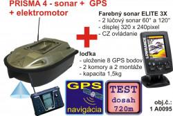 Akcia – PRISMA so sonarom a GPS + sonar X4 60°
