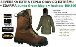 ZDARMA membránová bunda k Fanatic H2O Top teplej obuvi