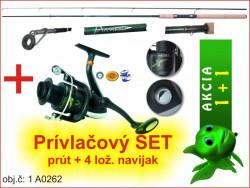 AKCIA-Prívlačový prút Partner + naviják Cool X FD 440