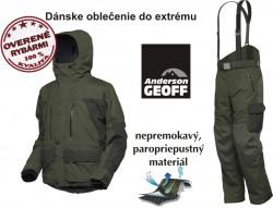 SET-Geoff bunda Dozer4+nohavice Urus4 zelené