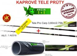 Akcia -1+1 Cool X Tele Pro Carp 3,60m, 2,75lb