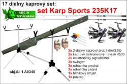 Kaprársky SET: Karp SPORTS 2K17 - 2diel /3,6m /3,5lb