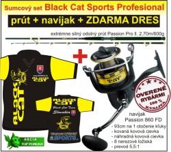 Black Cat sumčiarska akcia navijak + prút + zdarma dres