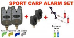 AKCIA kaprová - 2 x signalizátor+rohatinky+swingere