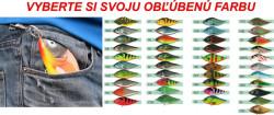 Kľúčenka pre rybára - wobler Slider