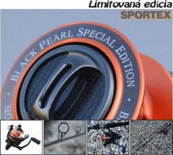 Black Pearl set prívlačový navijak a prut, SPORTEX