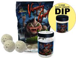 AKCIA SET Boilies  Vampire Garlic+PopUp 75g+Dip 150ml