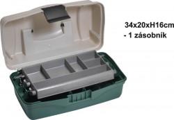 Kufrík rybársky - dvojposchodový - 34x20x16cm