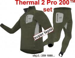 SET-Geoff spodné prádlo THERMAL 2 PRO, rosin green