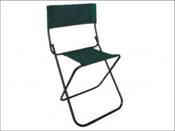 Rybárska stolička 40cm v tvare X s opierkou