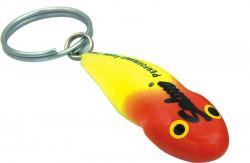 Kľúčenka SALMO wobler hlaváč, f. žlto-červená