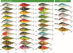 Salmo rybárske voblery Slider SD6F RPH