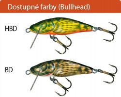 Salmo rybárske voblery Bullhead BD4F BD