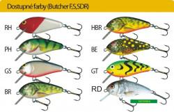 Salmo rybárske voblery Butcher BR5S GT