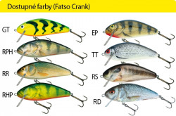 Salmo rybárske voblery Fatso Crank F14C RR