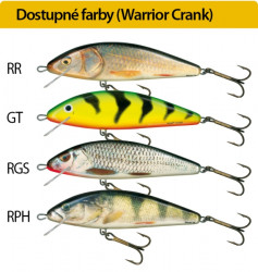 Salmo rybárske voblery Warrior Crank WC15S RR