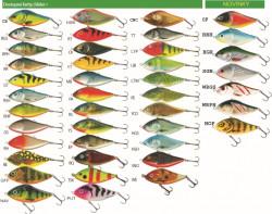 Salmo rybárske voblery Slider SD7F, 7cm