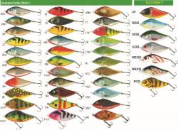Salmo rybárske voblery Slider SD7S RPH