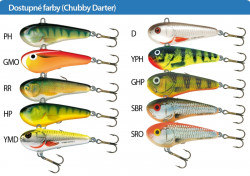 Salmo rybárske voblery Chubby Darter CD5 PH