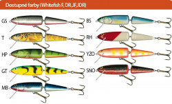 Salmo rybárske voblery Whitefish SW13JDR BS