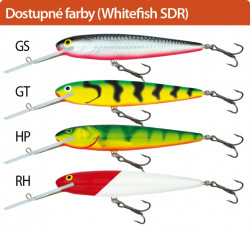 Salmo rybárske voblery Whitefish SW18SDR GS
