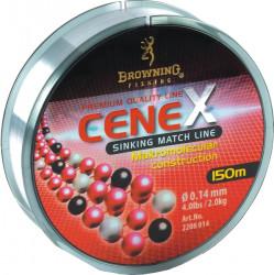 Vlasec Browning Cenex Sinking Line 0,14/150m