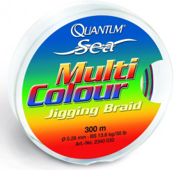 �n�ra Quantum Multicolour Braid, 300m priemer 0,28mm/13,6kg