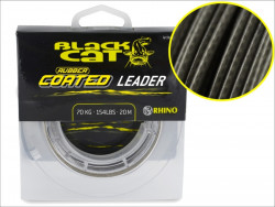 Black Cat sumcová šnúra Rubber Coated Leader, 20m