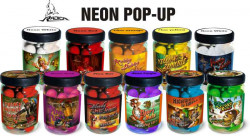 Boilies Yellow Zombie Neon Pop Up, pr. 16+20mm/75g + Di