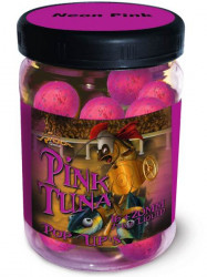 Boilies Pink Tuna Neon Pop Up, 16/20mm,75g + Dip