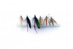 Set mušiek Mustad CL-FLYKIT-1 Wet mokré 6ks