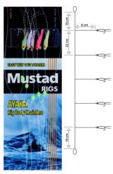 Nadväzec Mustad T18 Shrimp Bait Rig, háčik veľ. 4