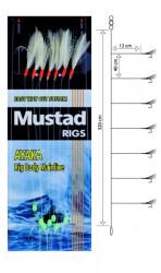 Nadväzec Mustad T82 Feather Rig, háčik veľ. 6