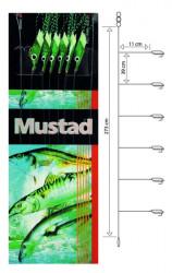 Nadväzec Mustad T92 Piscator X-Green, háčik veľ. 4