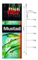 Nadväzec Mustad T93 Piscator X-Red, háčik veľ. 4
