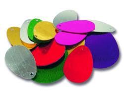 Lopatka Mustad 09991 Rig Spin Blades veľ. 1, 35ks