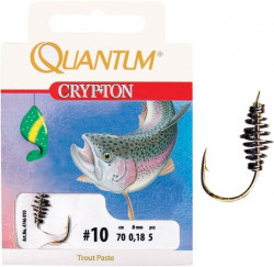 Háčik Crypton Trout Paste veľ. 6/0,22mm/70cm/5ks